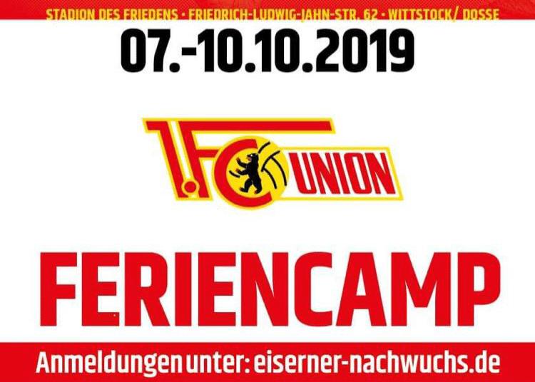 1. FC Union Berlin Feriencamp 2019