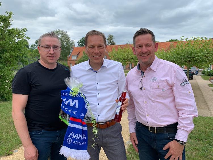 Claus Mohrmann feiert seinen 50. Geburtstag