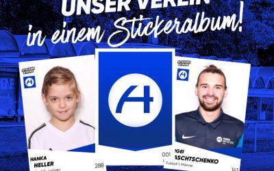 Eigenes Stickerstars-Album für den FK Hansa Wittstock / Sammel-Auftakt am 28. November