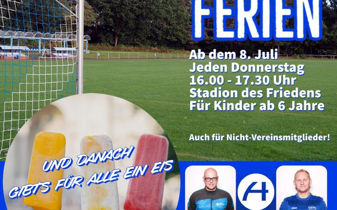 Fußball in den Ferien