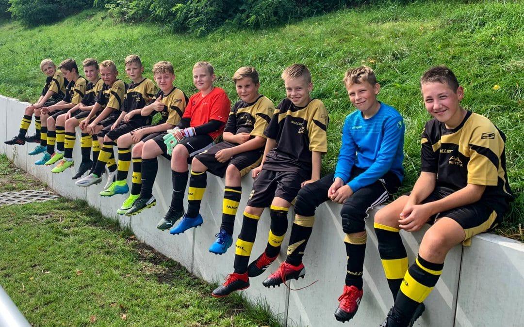 Unsere D-Junioren beim Turnier in Dallgow